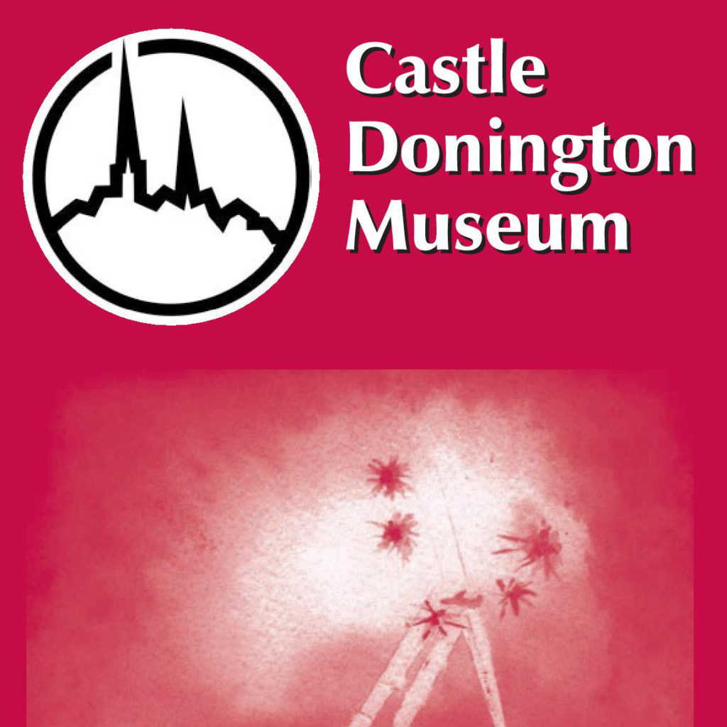 Castle Donington Museum Exhibition leaflet